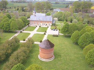 Normandy mansion w/pond & stables