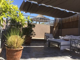 Central Marrakech riad with terrace