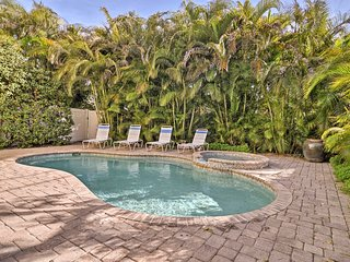 NEW! Holmes Beach Home w/ Pool - Steps to Beach!