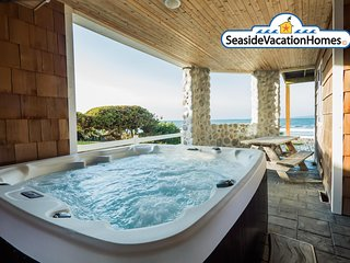 3182 Sunset - PACIFIC VIEW: Ocean Front + Sauna + Hot Tub