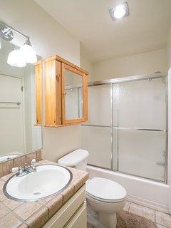 Sherwin Villas #32 - bathroom with shower/tub combo