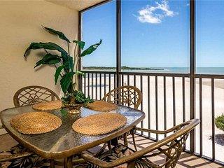 Carlos Pointe 413, 2 Bedrooms, Gulf Front, Elevator, Heated Pool, Sleeps 6 - Con