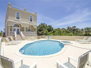 Wave Watch, 6 Bedrooms, Ocean Front, Private Pool, Spa, Sleeps 12 - House