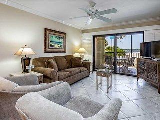 Carlos Pointe 121, 2 Bedrooms, Gulf Front, Elevator, Heated Pool, Sleeps 6 - Con