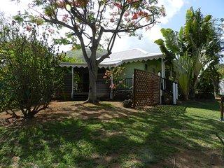 Le Jardin de l'Océan bungalow TOBAGO