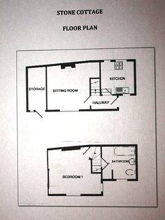 Stone Cottage floor plan