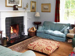 Comfortable, spacious and traditionally decorated sitting room