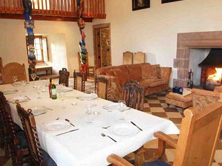 The perfect spot to host a medieval banquet