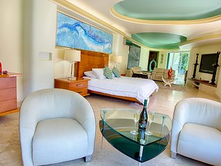 Beautiful, elegant, and luxury Master suite with impressive views of the beach,