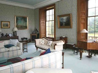 The drawing room is located on the first floor