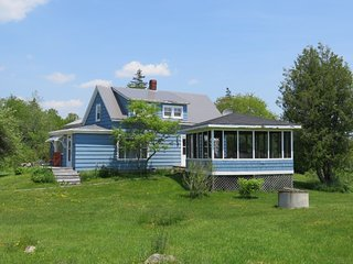 Meadow Pines Cottage in Sable River, Nova Scotia. Sleeps 8