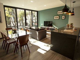 Stylish 2BR apartment in Condesa