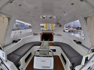 Yacht Antibes harbor - Large Cabin on 16 meter yacht