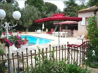 Juan les Pins Charming Provincial Villa with pool