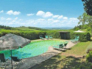 2 bedroom Villa in Castellina in Chianti, Tuscany, Italy : ref 5447471