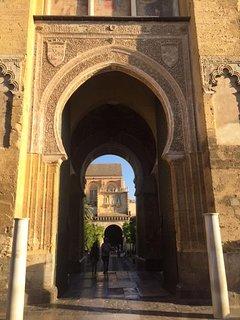 Moorish gateway in the stunning city of Cordoba