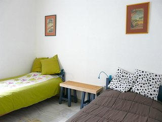 Apartment in the center of Malaga with Internet, Air conditioning, Lift, Terrace