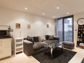 Modern 2 bed 2 bath Apartment in Canary Wharf
