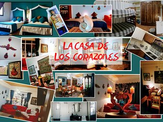 La Casa de Los Corazones/The House of hearts . Excellent location
