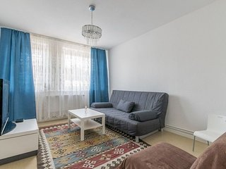 1.2 km from the center of Hanover with Internet, Parking, Balcony, Washing machi