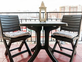 Apartment 750 m from the center of Seville with Internet, Lift, Terrace, Washing