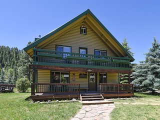 San Juan River House is right on the river in the San Juan River Village.