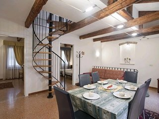 Apartment 333 m from the center of Venice with Internet, Air conditioning, Washi