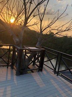 Sunset deck terrece