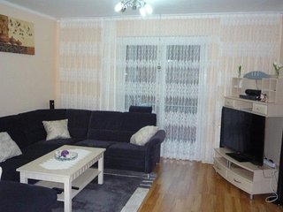 Apartment 1.1 km from the center of Hanover with Internet, Parking, Balcony, Was
