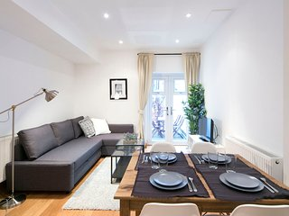 Apartment in London with Terrace, Washing machine (343362)