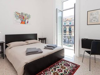 Apartment 684 m from the center of Naples with Internet, Air conditioning (62050