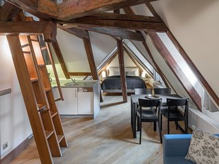 Studio apartment in the center of Prague with Internet, Parking (704993)