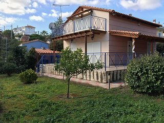 Porto Rafti Family 4BD Maisonette with Garden
