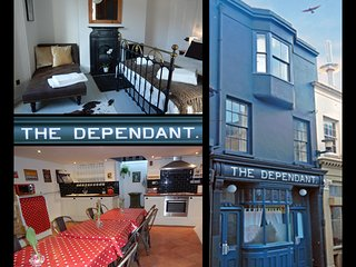 The Dependant,  a unique boutique holiday home in the heart of Brighton.