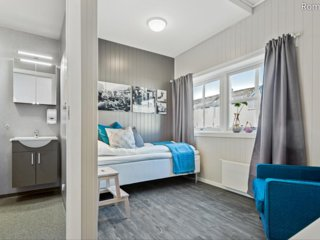(Room 103) Mogarden- Overnatting sentralt i Orkanger