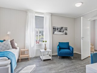 (Room 104) Mogarden- Overnatting sentralt i Orkanger