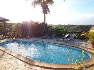 Kasa Creole Appartement 3 ch 100 m2 grande terrasse panoramique calme piscine