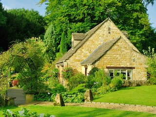 The Furrow is a traditional Cotswold stone cottage in a peaceful village