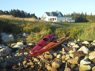 Oceans Playground includes use of the cottage kayaks