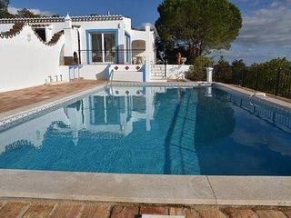 Villa individuelle au calme vue spectaculaire sur l'ocean et l'Algarve