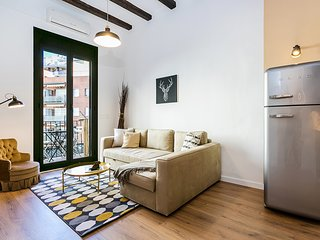 Lovely design 2bed close to Arc de Triomf