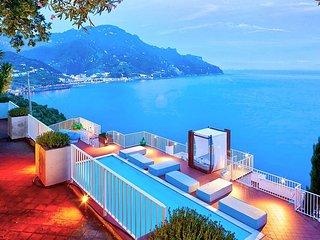 Amalfi Villa Sleeps 9 with Pool Air Con and WiFi - 5228427