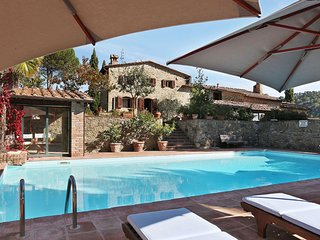 4 bedroom Villa in Barbischio, Tuscany, Italy : ref 5491615