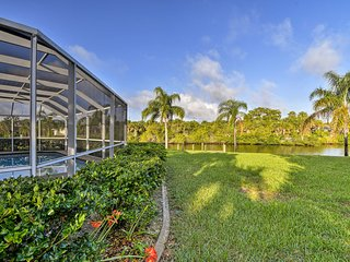 Peaceful Port Charlotte Home w/Lanai, Pool & Dock!