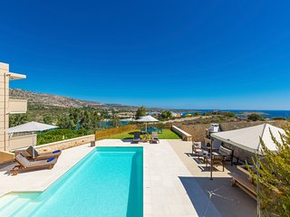 4 bedroom Villa in Loutraki, Crete, Greece : ref 5218014