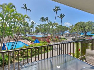 Maui Parkshore #204, 2Bd/2Ba, Partial Ocean View, Near Beach, Wifi, Sleeps 6