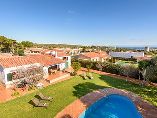 4 bedroom Villa in Punta Prima, Balearic Islands, Spain : ref 5573663