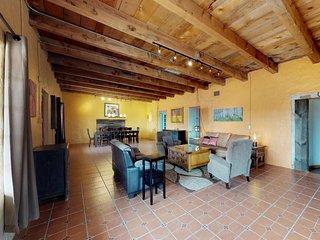 Historic home w/ colorful, traditional architecture & dog-friendly attitude