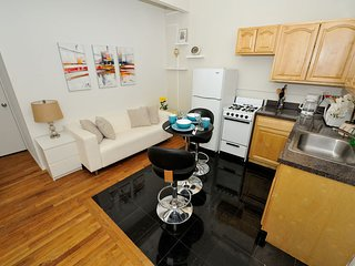 Times Square, Broadway, Central Park. All nearby this 2 Bed in Midtown South