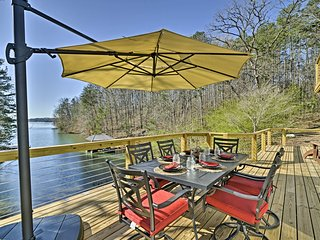 'Savasana' West Union Home on Lake Keowee w/ Dock!